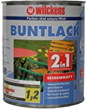 Wilckens 2in1 Buntlack seidenmatt, RAL 9010 reinweiß,...