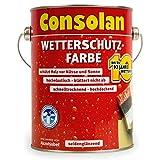 Consolan Wetterschutzfarbe 750 ml, braun