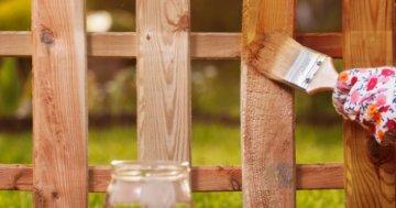 Holz lasieren ohne Schleifen