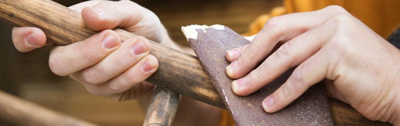 Welches Schleifpapier für Holz