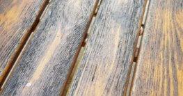 Grauschleier Holz entfernen