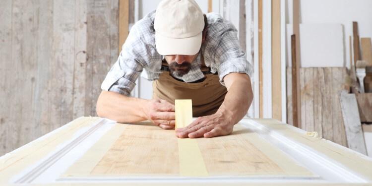 Holz abkleben streichen
