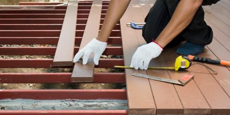 Konstruktiver Holzschutz Poolumrandung