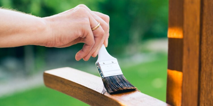 lärchenholz zaun streichen oder nicht - einölen