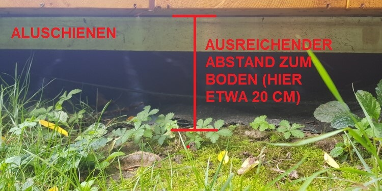 konstruktiver Holzschutz Terrasse Abstand zum Boden