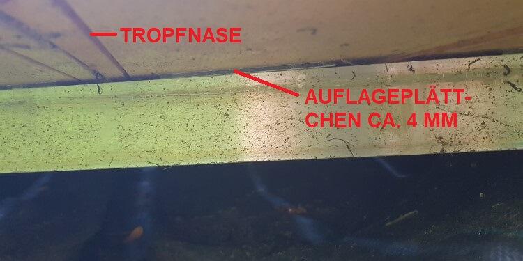 Detail Auflagerbereich kontruktiver Holzschutz Terrasse