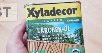Lärchenöl Test Xyladecor